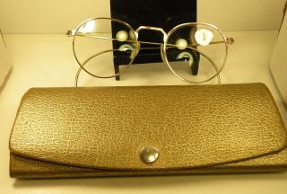 Antique American Optical 1/10th 12k Gold Fill Hi - Bo Childs Eyeglasses Cond photo