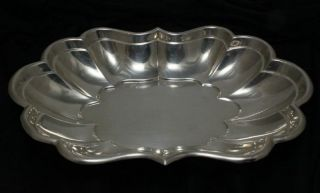 Reed & Barton Windsor Sterling Silver Tray No Monogram 15.  9 Oz photo