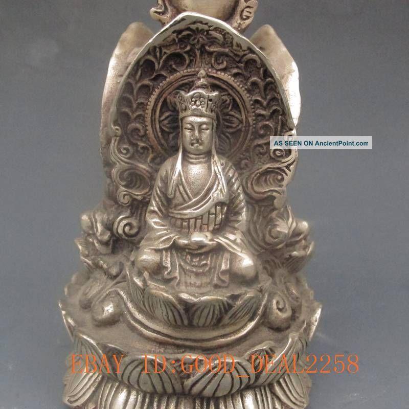 Indian Buddha Statue Statue Three Face Buddha