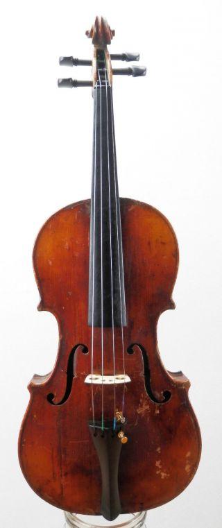 Rare,  Antique Very Old Italian Violin 4/4 (fiddle,  Geige) photo