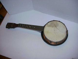 U - King Antique Banjo Witrh Resonator photo