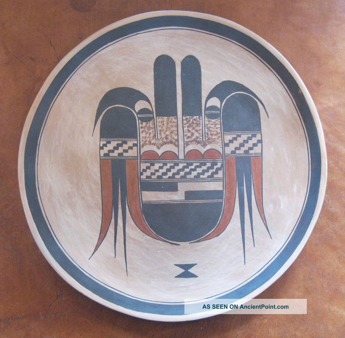 Native American Pottery Hopi Plate By Rachel Sahmie Nampeyo Native American photo