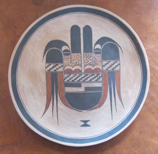 Native American Pottery Hopi Plate By Rachel Sahmie Nampeyo photo