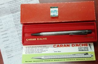 Vintage Caran D ' Ache Goliath Pen From Ss.  Homeric C.  1950 ' S Home Lines photo