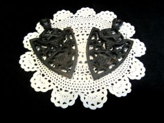 Vintage Of 2 Wilton Cast Iron Trivets photo