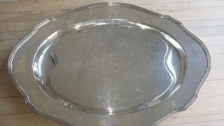 Gorham Sterling Tray Platter photo