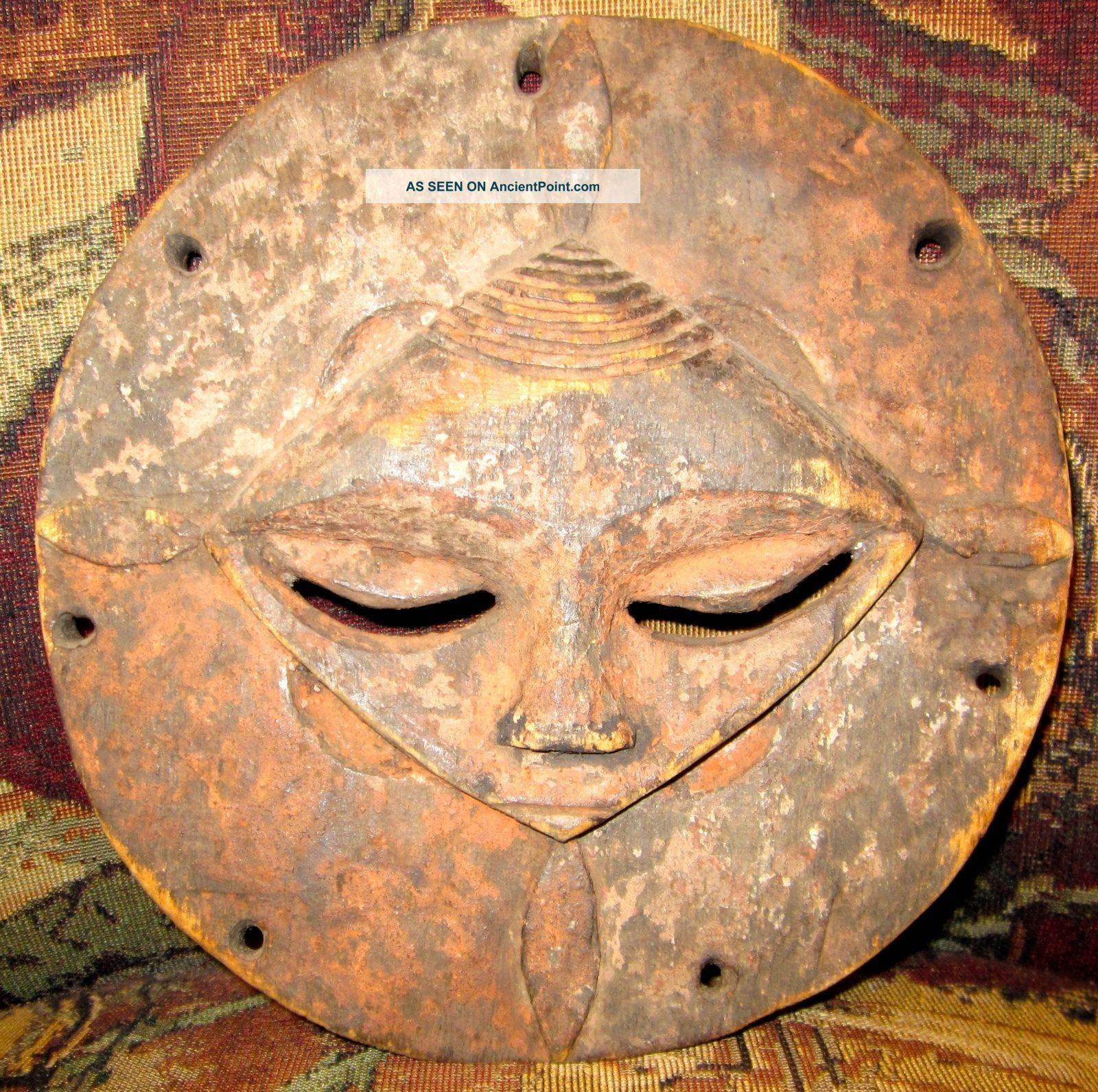 Rare Nigerian Face Mask - Africa - Ibibio - Okobo Tribe - Jason Roberts Collection Other photo