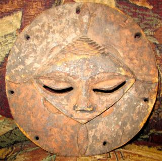 Rare Nigerian Face Mask - Africa - Ibibio - Okobo Tribe - Jason Roberts Collection photo