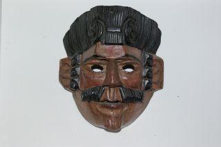 Conquistador Guatemalan Antigua Mask Ceremonial photo