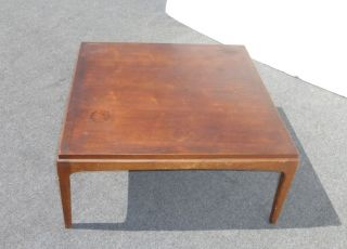 Vintage Mid Century Danish Modern Coffee Table By Lane photo