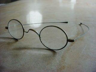 Antique 1850 - 1900 ' S Civil War Era Eyeglasses Spectacles Pre - Victorian photo