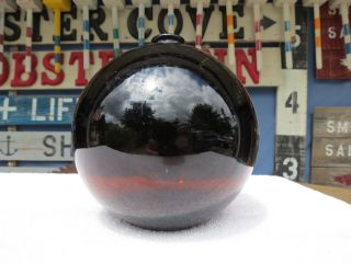 6+ Inch Brown Northwest Glass Company Glass Float Ball (1206) photo