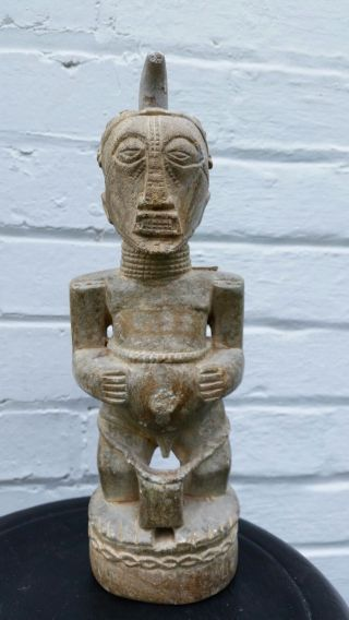 Basongue Congo Stone Statue photo
