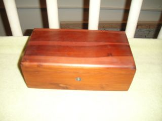Vintage Miniature Lane Cedar Chest Sample - Country Furn.  Shop - Pompton Plains Nj photo