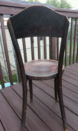 Antique Steam Bentwood Mazowia Chair Made In Poland Central New Jersey Pick Up photo