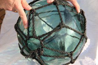 Vintage Japanese Glass Fishing Float,  12