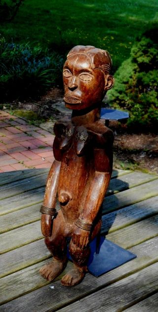 Fang Mabea Byeri Figure Female - Cameroon photo