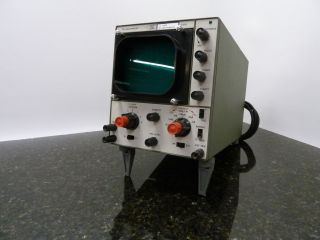 Vintage Telequipment Oscilloscope Model S51a Or Repair photo