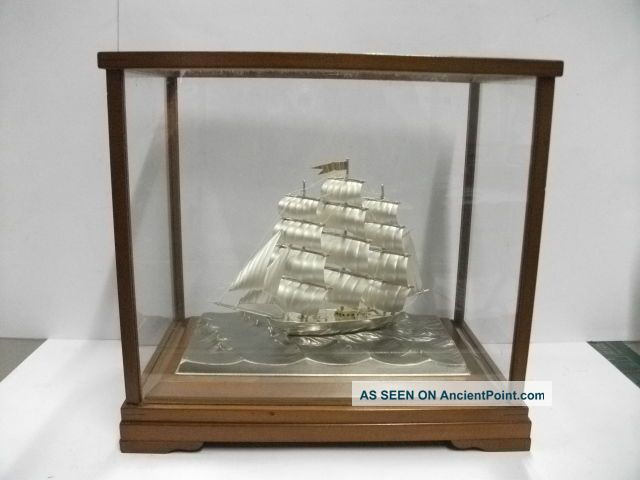 The Silver985・ Clipper Ship Of The Most Wonderful Japan.  3 Masts.  Takehiko ' S Wor Other photo