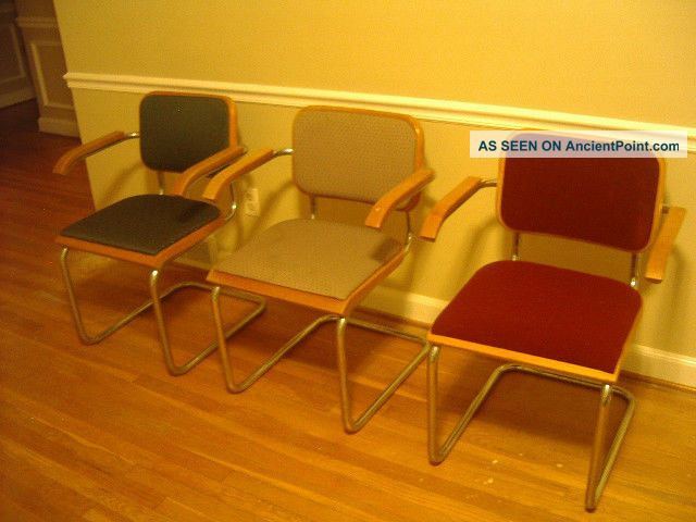 Thonet Knoll Marcel Breuer Cesca Chair Vintage Mid Century Modern Post-1950 photo