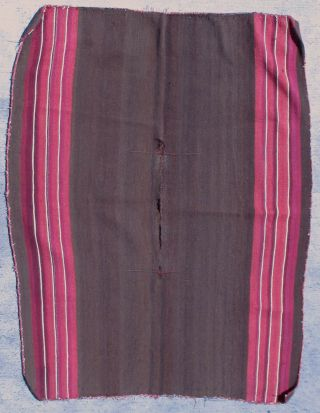 Fine Antique Aymara Poncho Cochineal Bolivia Poncho photo