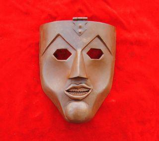 Antique Mughal Islamic Ottoman Turkish Iran Anatolia War Mask Kulah Khud Helmet photo