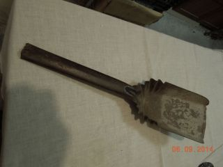 Vintage Metal Steel Hearthware Fireplace Furnace Ashes Coal Shovel Tool photo