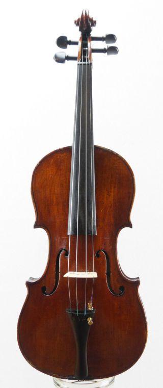 Antique 120 Year Old Italian 4/4 Master Violin photo