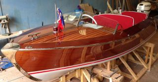 Riva Scoiattolo Wooden Boat Plan Full Size photo