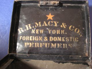 Antique Vintage Macy ' S Department Store Early Cash Box In Store? photo