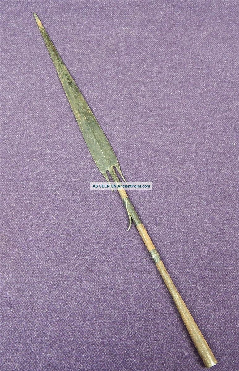 African Or South American Antique Forged Spear Tip 2 Other photo