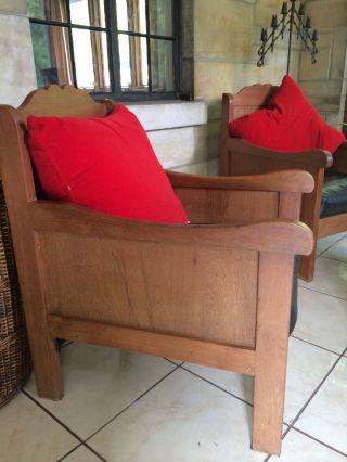 Teak Box Chairs photo
