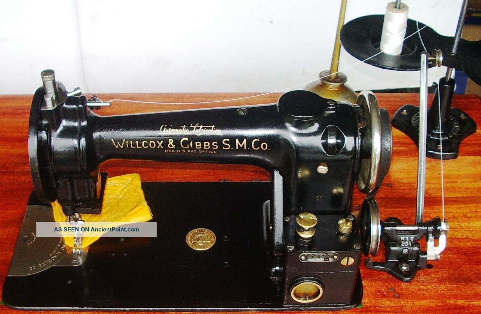 Willcox&gibbs Industrial Hi - Speed Lockstitch Type11 - A Sewing Machine Auto Lubrct Sewing Machines photo