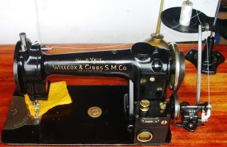 Willcox&gibbs Industrial Hi - Speed Lockstitch Type11 - A Sewing Machine Auto Lubrct photo