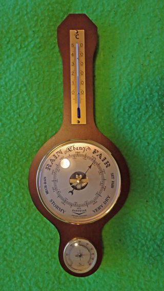Vintage Barometer,  Made In France,  1980 ' S,