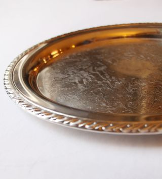 Round Serving Tray 12