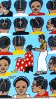 African Barber Sign Advertising Braiding Cutting Hair Salon Art Signed Other photo 1