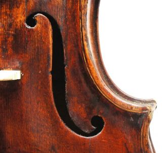 Very Old And Interesting Antique 18th Century Violin - Ready - To - Play,  Outstanding photo