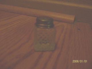 Small Glass Salt Shaker photo