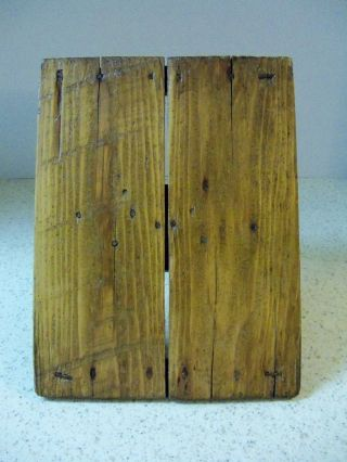 Antique Carpenters Pallet For Taping Putty - - Neat Old Piece photo