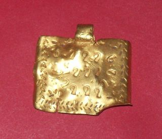 Celtic Gold Massive 4.  40 Gr.  Mistery Pendant