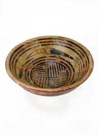 Across The Puddle Pre - Columbian Pottery - Tuza Nariño Bowl Replica photo