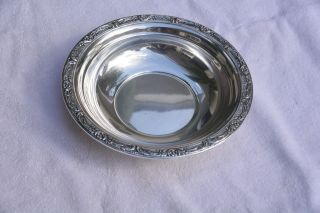 Reed & Barton Sterling Silver Large Bowl X745 - Burgundy Pattern photo
