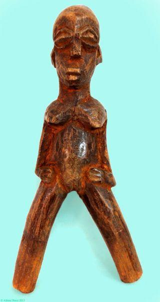 Lobi Figural Slingshot Female Figure Burkina Faso African - 1 photo