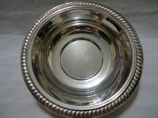 Silver Small Plater Fb Rogers Silver Ware Salad Plate Dinner Silver Plate photo