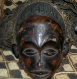 Old Chokwe Mwana Pwo Mask.  Wood photo