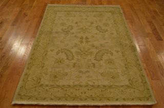 100% Wool Reversible 4 ' X 5.  5 ' Soumak Rug Hand Woven Flat Weave Oriental Rug Rb7 photo