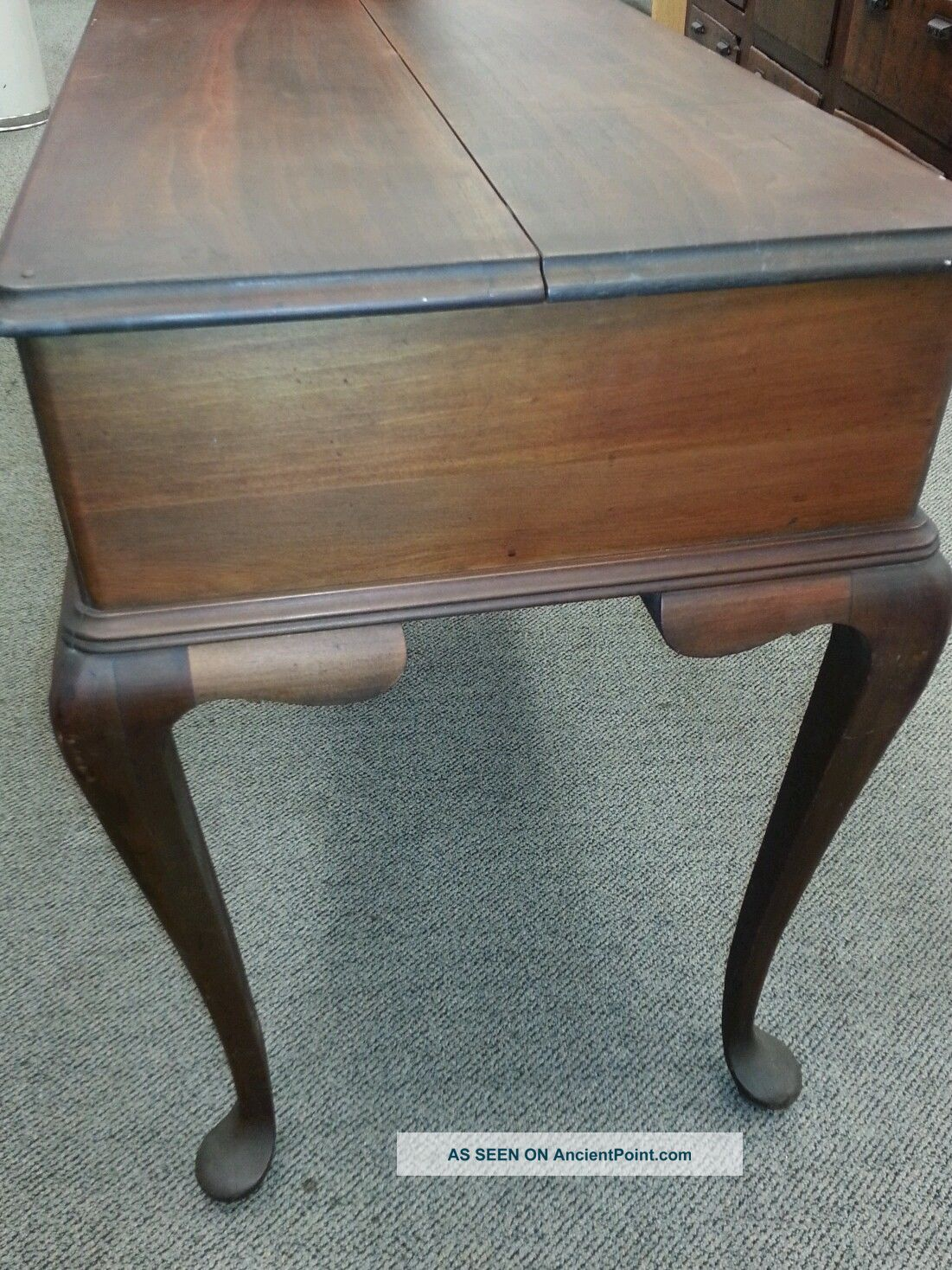 Wonderful image of Antique Cabriole Legs Desk Pulaski Furniture Pictures to pin on  with #694730 color and 1101x1468 pixels