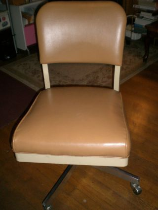All Steel Equipment Office Chair - Beige,  Post - 1950 photo