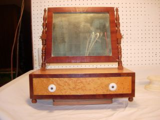 Fine Federal Dressing Mirror Circa 1825 New England photo